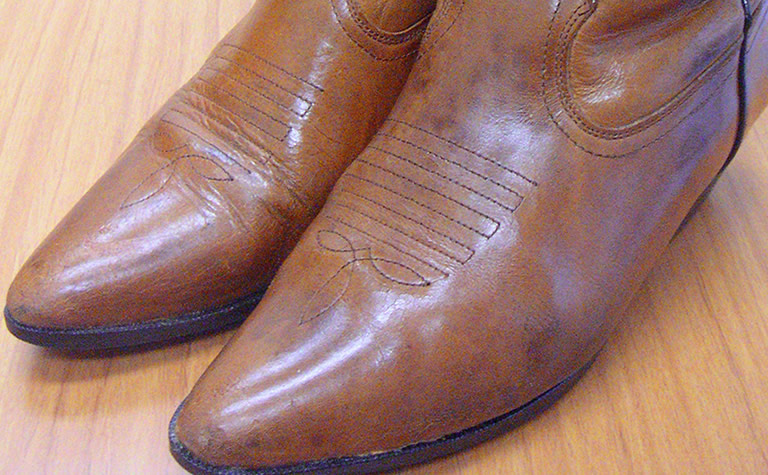 靴の擦り傷や色落ちAfter